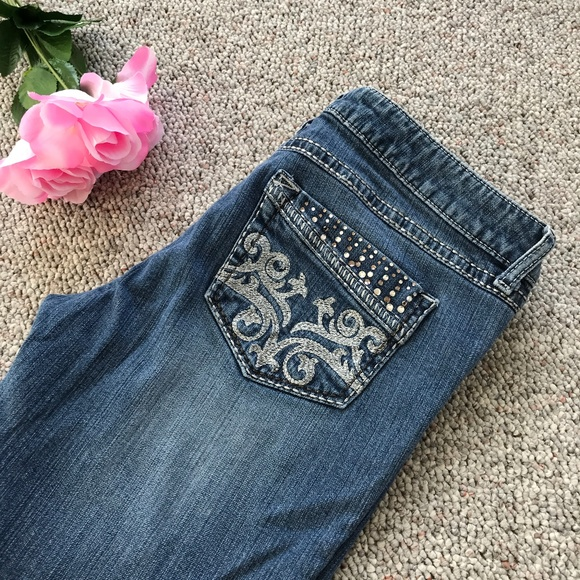 264a60bb Wrangler Jeans | Rock 47 Ultra Low Rise Bootcut | Poshmark